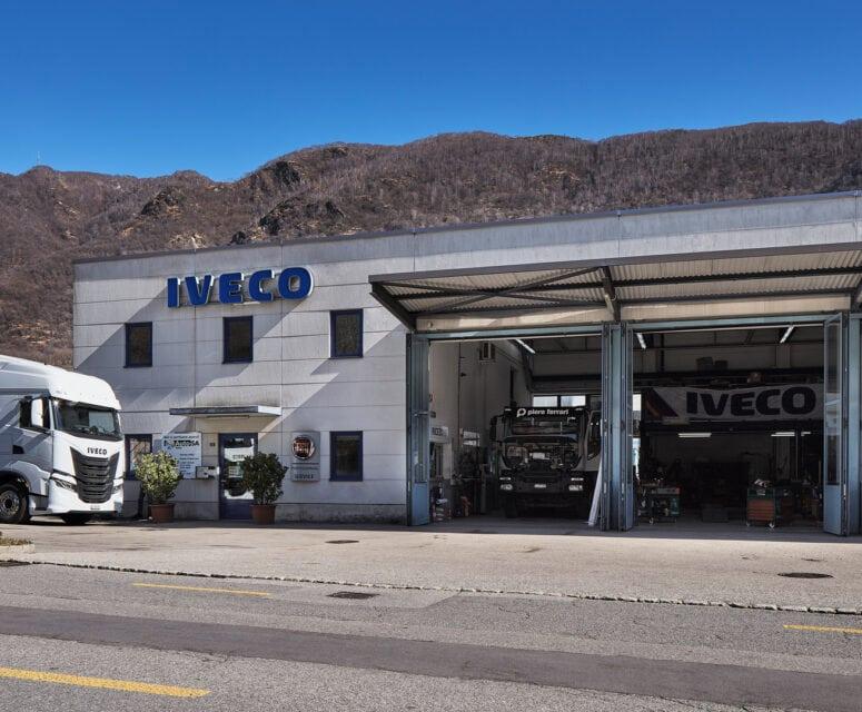 Auto AG Truck am Standort Mezzovico, Tessin