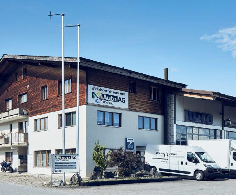 Auto AG Truck am Standort Uetendorf mit IVECO und Fiat Professional Markenvertretung